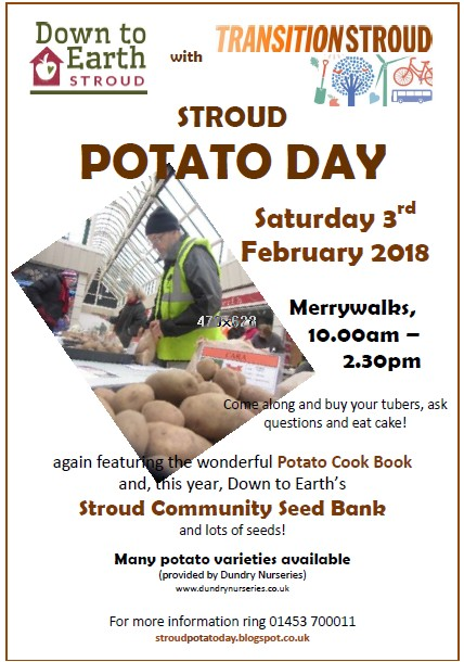 Stroud Potato Day 2018 and Stroud Community Seed Bank