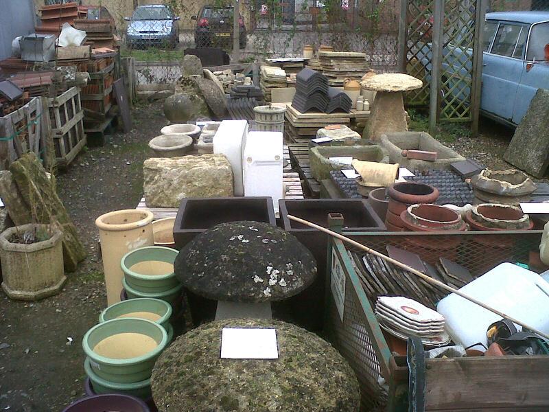 Reclamation yard garden antiques Stroud, Glos